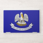 """HP laptop skin with flag of Louisiana, USA<br><div class=""""desc"""">Patriotic and elegant HP laptop skin with flag of Louisiana State,  United States of America. This product its customizable.</div>"""