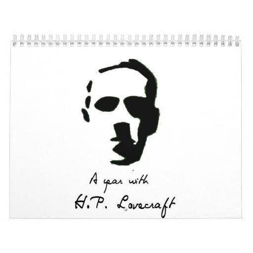 HP Lovecraft Calendar