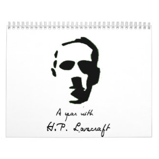 HP Lovecraft Calendar