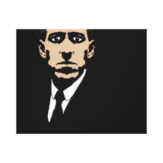 HP LOVECRAFT STRETCHED CANVAS PRINT