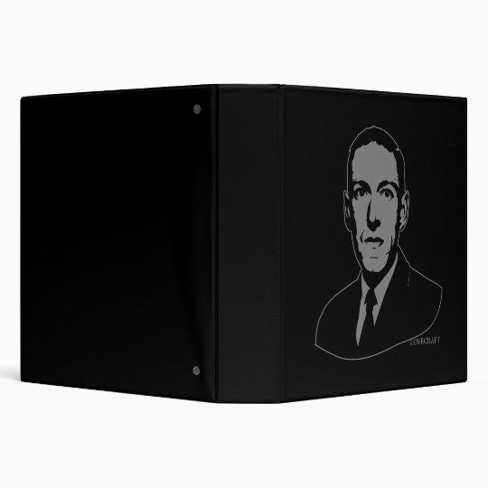 HP Lovecraft Portrait 3 Ring Binder