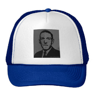 HP Lovecraft Portrait Hat