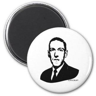 HP Lovecraft Portrait Magnet