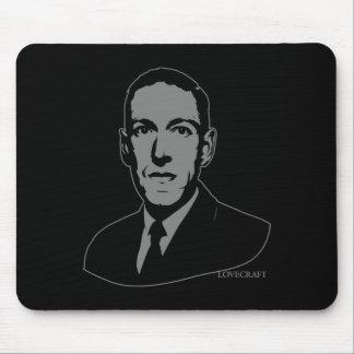 HP Lovecraft Portrait Mouse Pad