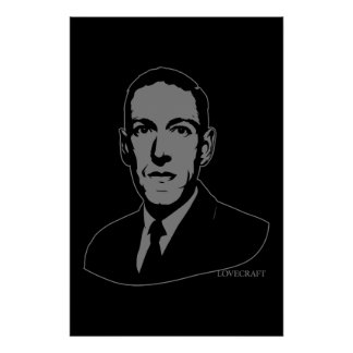 HP Lovecraft Portrait Posters