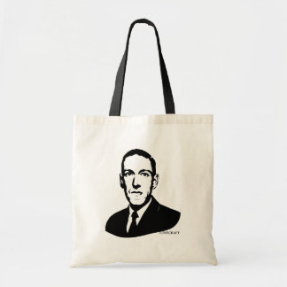 HP Lovecraft Portrait Tote Bag