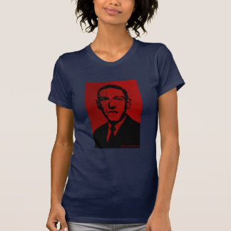 HP Lovecraft - red T-Shirt