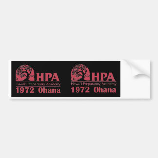 HPA1972 Ohana   Two-Fer-One Bumper Stickers