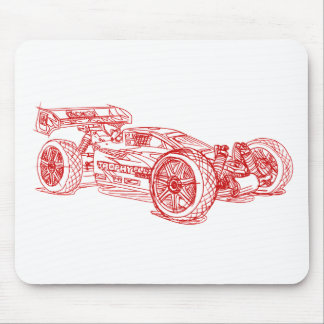 HPI Trophy Buggy Flux Mouse Pad
