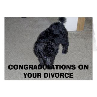 HPIM0003 CONGRADULATIONS EN SU DIVORCIO TARJETA