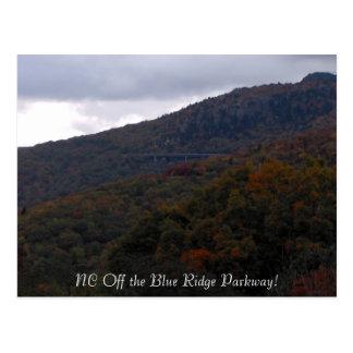 ¡HPIM0118, NC de la ruta verde azul de Ridge! Postales