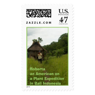 HPIM0162, Roberta an American on a Plant Expedi... Postage