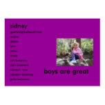 HPIM0180, sidney, gpatte2@bellsouth.net, amber,... Large Business Cards (Pack Of 100)
