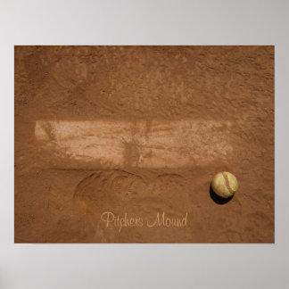HPIM0315, Pitchers Mound Poster