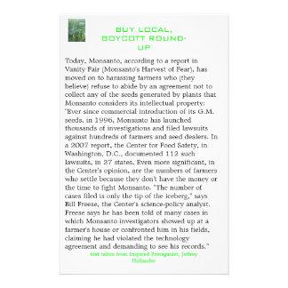 HPIM0544, Today, Monsanto, according to a repor... Flyer
