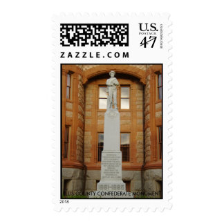 HPIM1540, ELLIS COUNTY CONFEDERATE MONUMENT POSTAGE