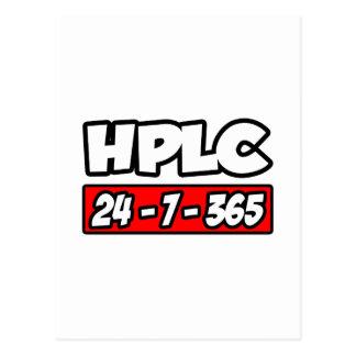 HPLC 24-7-365 POST CARD