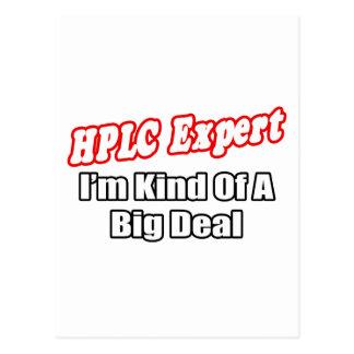 HPLC Expert...Big Deal Post Cards