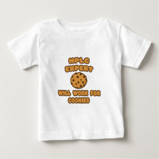 HPLC Expert  .. Will Work for Cookies Baby T-Shirt
