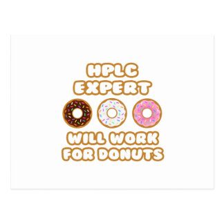 HPLC Expert .. Will Work For Donuts Post Cards