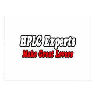 HPLC Experts Make Great Lovers Post Card
