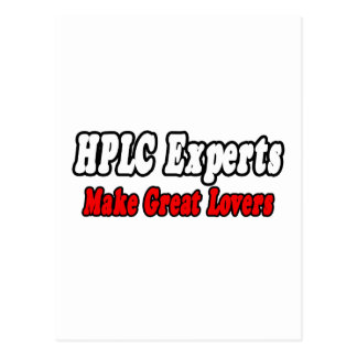 HPLC Experts Make Great Lovers Postcard