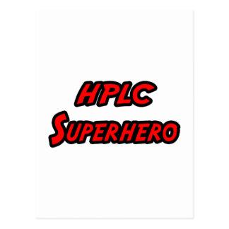 HPLC Superhero Postcards