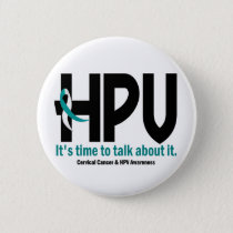 HPV Awareness 1 Button
