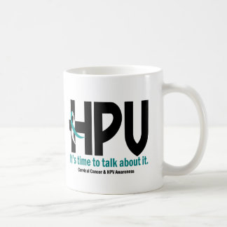 HPV Awareness 1 Classic White Coffee Mug