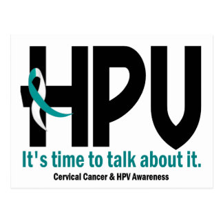 HPV Awareness 1 Postcard