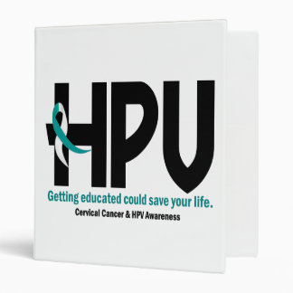 HPV Awareness 2 Binders