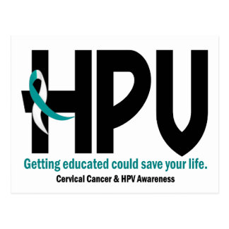 HPV Awareness 2 Postcard
