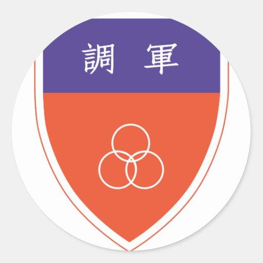 HQ de China Etiqueta