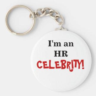 HR Celebrity! - Human Resources Coworker Basic Round Button Keychain