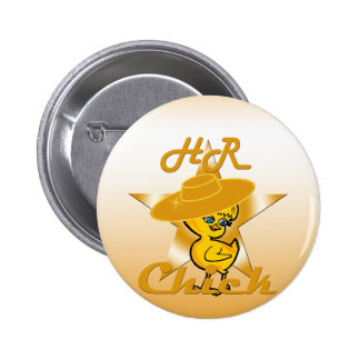 HR Chick #10 Pinback Button