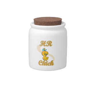 HR Chick Candy Jars