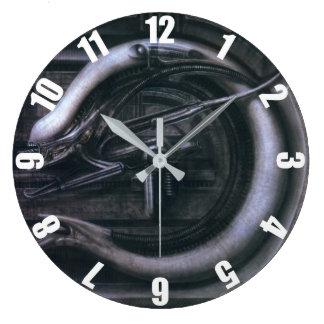 HR Giger: Alien Monster Large Clock