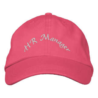 HR Manager Embroidered Hat Cap Gift