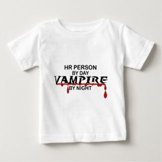 HR Person Vampire by Night Baby T-Shirt