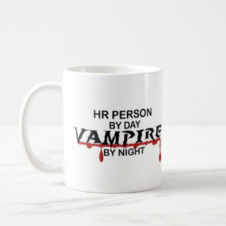 HR Person Vampire by Night Coffee Mugs