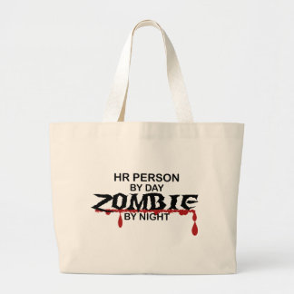 HR Person Zombie Tote Bags