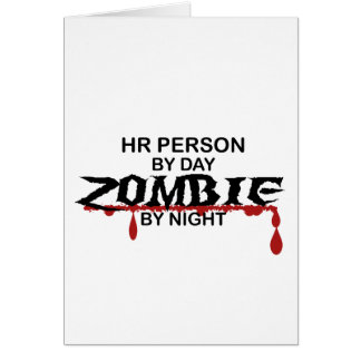 HR Person Zombie Card