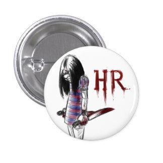 hr pinback button