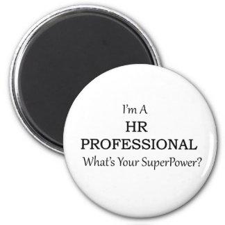 HR Professional 2 Inch Round Magnet