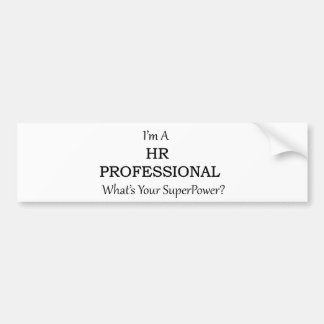 HR Professional Bumper Sticker