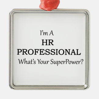 HR Professional Metal Ornament