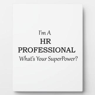 HR Professional Plaque