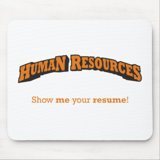 HR / Resume Mouse Pad