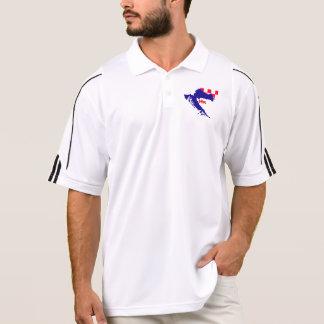 HR Tshirt with folder or Croatia