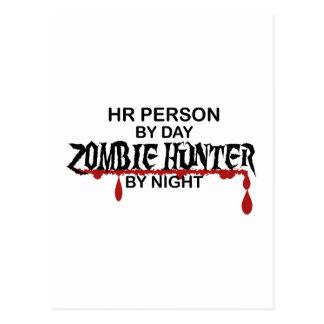 HR Zombie Hunter Postcard